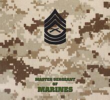 USMC E8 MSgt Desert by Sinubis