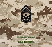 USMC E9 SgtMaj Desert by Sinubis
