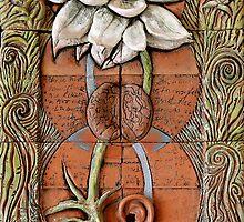 Lotus VII: sense doors - blossoming crown by Mona Shiber