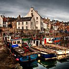 Evening Rolling in over Crail by Christine Smith