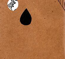 Sketchbook Project 2012 - back cover by Dorothea Baker