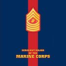 USMC E9 SMMC Blood Stripe by Sinubis