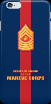 USMC E9 SMMC Blood Stripe by Sinubis