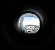 Through The Peephole  by Hugh Fathers