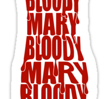 Bloody Mary Sticker
