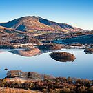 Winter Morning above Derwent Water  by Chris McIlreavy
