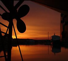 Drydock Sunset by Mcrobbie