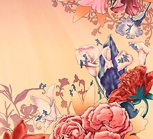 The flowers by HermesGC