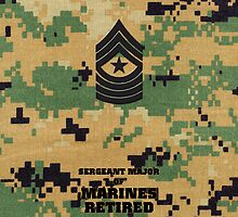 USMC E9 SgtMaj Retired Woodland by Sinubis