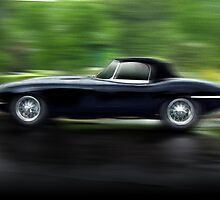 classic british car  by robert dellapiana