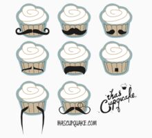 cupcake mustaches by ihascupquake