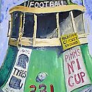 Football Tram by Bradyink