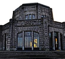 Vista House at Crown Point by Kathy Yates