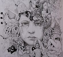 A growing mind (In progress) by Jedika