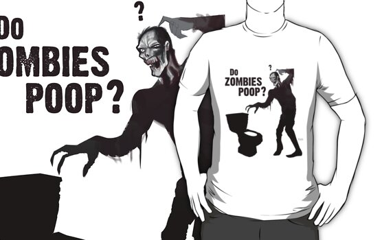Do zombies poop? by Terry  Parr