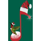 ♫ ♬ ♪ ♩ ♪ ❤ HUMMING U A MERRY CHRISTMAS IPHONE CASE ♫ ♬ ♪ ♩ ♪ ❤  by ╰⊰✿ℒᵒᶹᵉ Bonita✿⊱╮ Lalonde✿⊱╮
