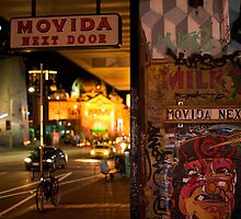 Movida Next Door @ Night by arip