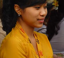 beautiful Balinese girl by supergold