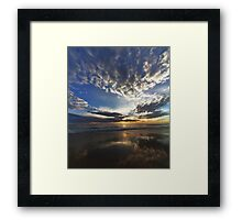LightSpeed to the Sol Framed Print