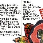 Illustrated Recipe: Persimmon Cheesecake (in Japanese) by dosankodebbie
