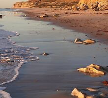 Port Willunga Beach by Claire Aberlé