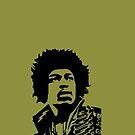 Jimi Hendrix by chiaraggamuffin