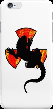 Radiactive Gecko - Funny iPhone Case by Denis Marsili - DDTK