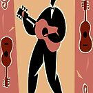 Guitar Player by eggnog