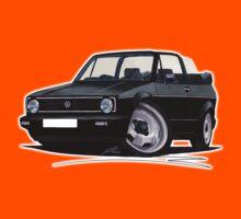 VW Golf (Mk1) Cabriolet Black Kids Clothes