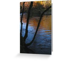 Autumn Reflected Greeting Card