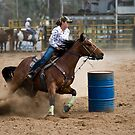 Barrel Racer by GailD