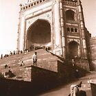 Jama Masjid, Fatehpur Sikri, Rajasthan   by Giles Freeman