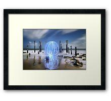Port Willunga Orb Framed Print