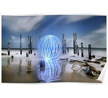Port Willunga Orb Poster