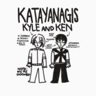 Katayanagi Twins  by PoleonPole