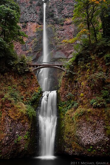 Multnomah Falls by 11th-Dimension