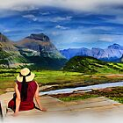 Logans View - Digital Oil Painting by JamesA1