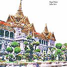 Bangkok - Grand Palace by Julien Menet