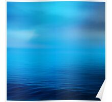 The Big Blue I Poster