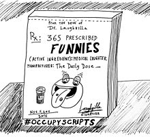 Occupy Scripts editorial cartoon by bubbleicious