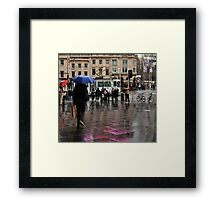 catching a rainbow Framed Print