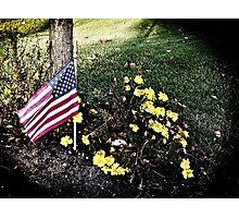 """Veterans Day 11-11-11"" Photographic Print"