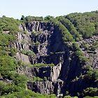 Landscape waterfall by Abigail Langridge