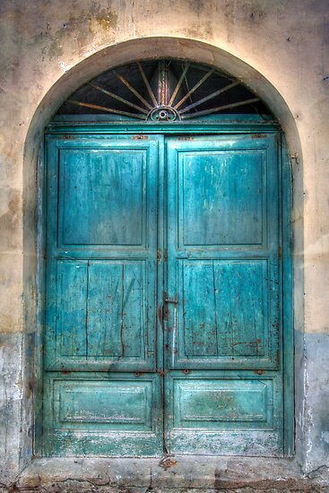 Blue Door by David Tinsley