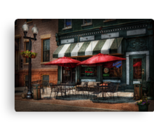 Cafe - Albany, NY - Mc Geary's Pub Canvas Print