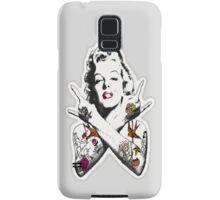 Punk Marilyn Samsung Galaxy Case/Skin
