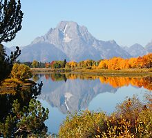 Oxbow Bend by Rick Thiemke