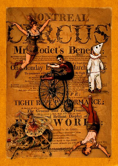 At the Circus by Sarah Vernon