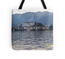 IL LAGO D'ORTA - ISOLA DI SAN  GIULIO - ITALY- EUROPA- 4500 visualizz.settembre 2013 -featured in italy 500+ & RB EXPLORE 14 NOVEMBRE 2011 --- Tote Bag