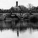 The English Bridge, Shrewsbury by Matt Sillence